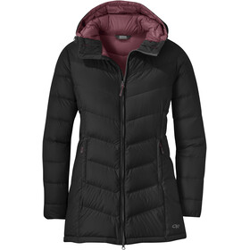 Outdoor Research Transcendent Parka de Plumas Mujer, black
